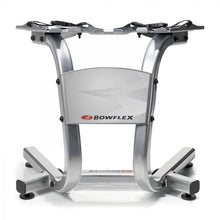 Load image into Gallery viewer, Bowflex 100300 SelectTech Metal Dumbbell Stand with Built-in Towel Rack, Silver