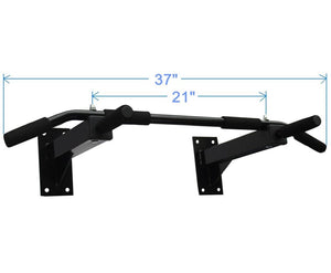Heavy Duty Wall Mount Pull Up Bar/Chin Up Bar