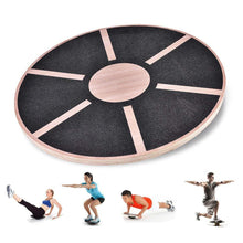 Load image into Gallery viewer, Wooden Balance Board for Exercise, Gym, Sport Performance Enhancement