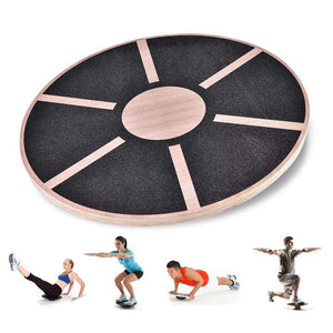 Wooden Balance Board for Exercise, Gym, Sport Performance Enhancement