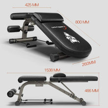 Load image into Gallery viewer, Home Gym Adjustable Workout Bench & Body Building Weight Bench Gym Rated up to 700lb