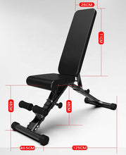Load image into Gallery viewer, Home Gym Adjustable Workout Bench & Body Building Weight Bench Gym