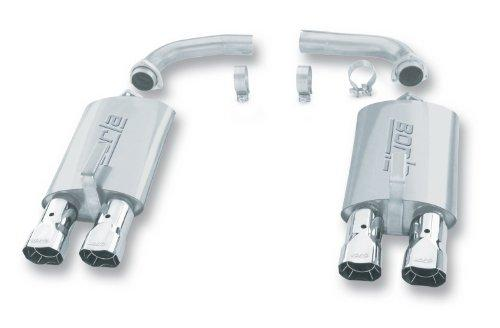 "Borla 11376 Corvette Rear Section 2.5"" System Exhaust"
