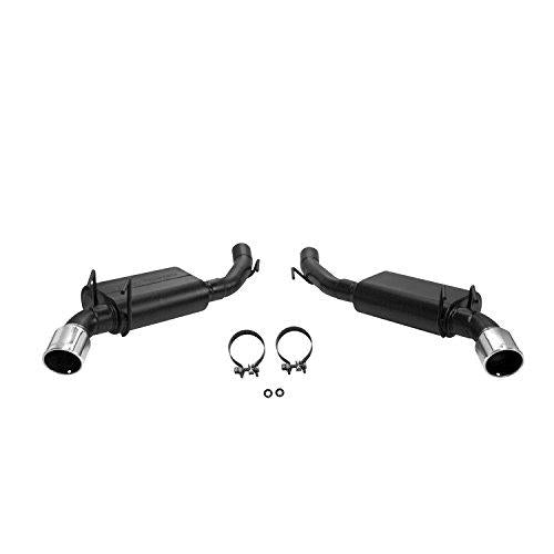 Flowmaster 817506 Axle-back System 409S - Dual Rear Exit - Force II - Mild Sound - Dana Port