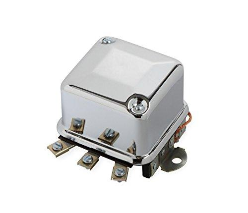 ACCEL 201106C Chrome Electro Mechanical Voltage Regulator