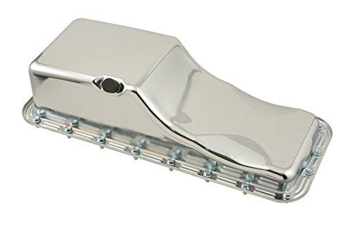 Mr. Gasket 9432 Chrome Plated Engine Oil Pan - Dana Port