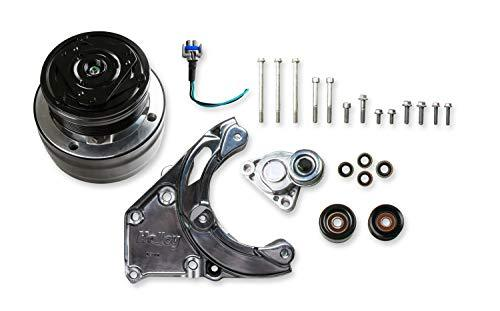 Holley 20-140P GM LS A/C Accessory Drive Kit GM LS-Series Engines High Mount Sty