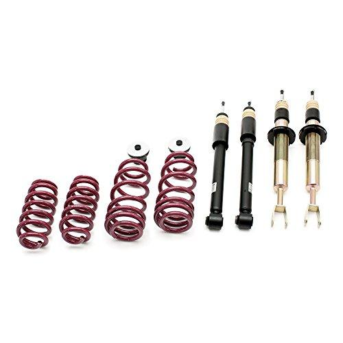Vogtland 968144 Height Adj. Coilover Kit Spring Lowering Fits: Audi A1 Type 8X - Dana Port