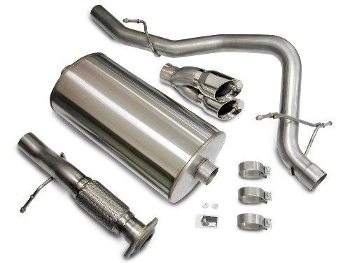 "CORSA 14208 Twin Pro-Series 4"" Single Side Exit Touring Exhaust System"