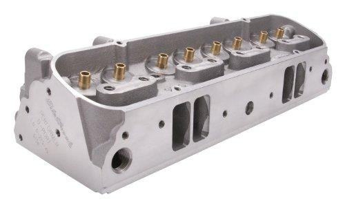 Edelbrock 61569 Performer 87cc Pontiac Cylinder Head with Bare D-Port Exhaust