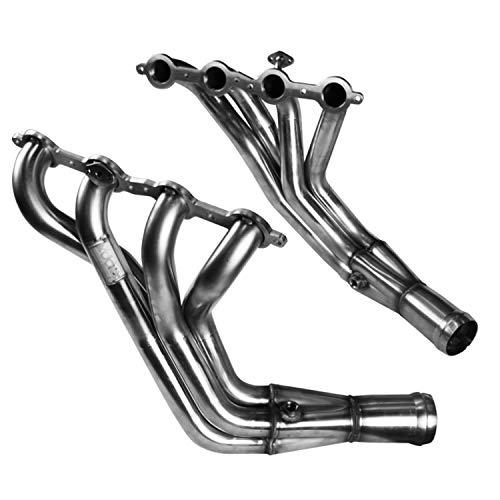 Kooks Custom Headers 21502220 Stainless Steel Headers Street Version 1 3/4 x 3 in. Long Tube w/Air Tubes And O2 Fittings w/Merge Collectors Stainless Steel Headers