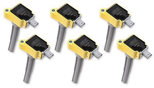 ACCEL 140773-6 Super Coil OEM Replacement Yellow 6-Pack Super Coil