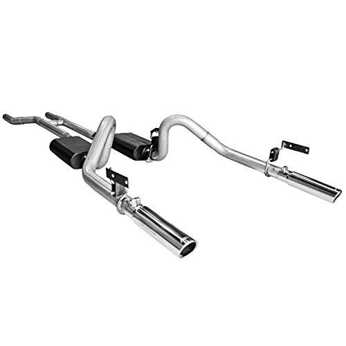 Flowmaster 817281 Super 44  Series Header-Back Exhaust System for Ford Mustang - Dana Port