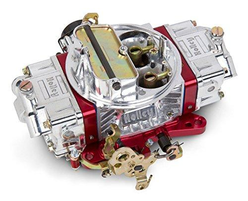 Holley 0-76650RD 650 CFM Ultra Double Pumper Four Barrel Street/Strip Carburetor - Red