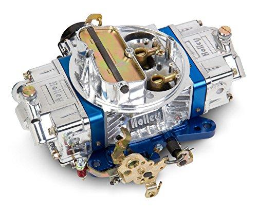 Holley 0-76650BL 650 CFM Ultra Double Pumper Four Barrel Street/Strip Carburetor - Blue - Dana Port