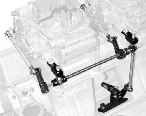 Edelbrock 7071 THROTTLE LINKAGE KIT - Dana Port
