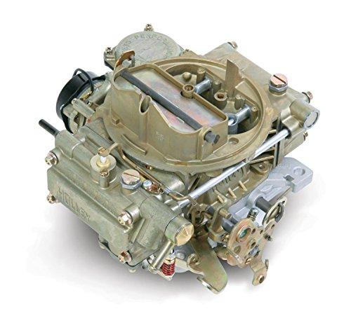 Holley 0-80452 600 CFM Square Four Barrel Vacuum Secondary Electric Choke Street Carburetor - Dana Port