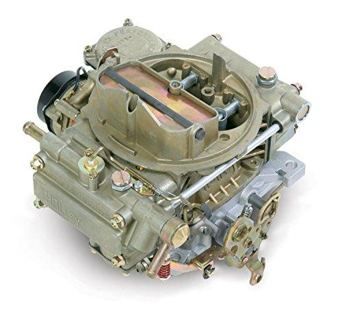 Holley 0-80451 600 CFM Square Four Barrel Vacuum Secondary Electric Choke Street Carburetor