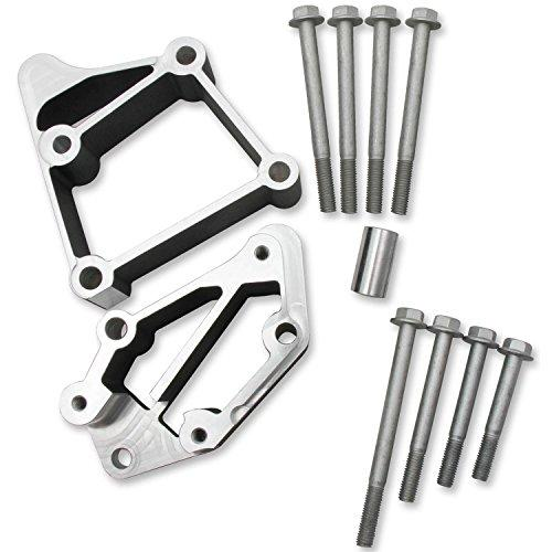 Holley HOL 21-3BK Install KIT LS Acc DRV Brackets USE with