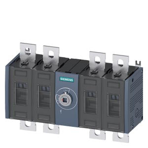 Siemens 3KD3640-0PE20-0 SWITCH-DISCONNECTOR 690V 200A 4P