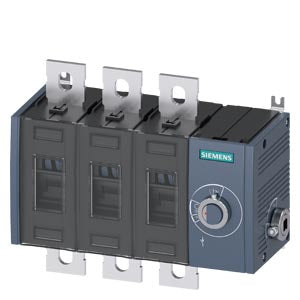 Siemens 3KD3634-0PE40-0 SWITCH-DISCONNECTOR 690V 200A 3P