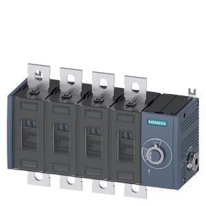 Siemens 3KD4444-0PE40-0 SWITCH-DISCONNECTOR 690V 500A 4P FS3