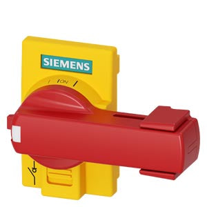 Siemens 3KD9101-8 DIRECT OP MECH DIN43880 YEL/RED 3KD FS1