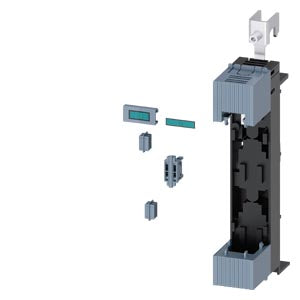 Siemens 3NP1924-1ED10 Mounting kit, for creation 4-pole 3NP1 for mounting on 60 mm busbar system 8US for Size NH000 with box terminal, accessory for fuse switch disconnector 3NP1