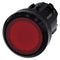 Siemens 3SU1001-0AA20-0AA0-Z Y19 ILLUMINATED PUSHBUTTON, RED