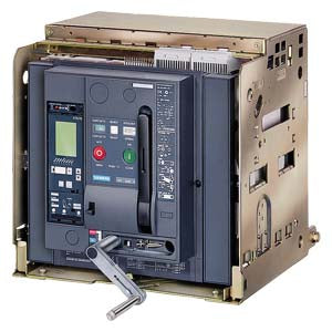 Siemens 3WL1208-4FB37-5FM4-Z A61+B04+C22+F05+F12+S07+U01 WITHDRAWABLE CIRCUIT BREAKER