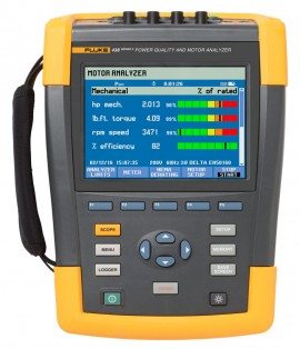 Fluke 438-II Power Quality &motor Analyzer