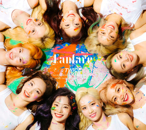 "TWICE Japan 6th Single ""Fanfare"" First Press Limited Edition A (CD + DVD)"
