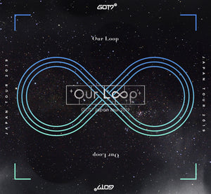 "GOT7 Japan Tour 2019 ""Our Loop"" First Press Limited Edition Blu-Ray + DVD & Live Photobook"