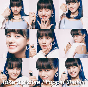 "NiziU 2nd Single ""Take a picture / Poppin' Shakin' "" WithU Limited NINA SOLO Edition (CD Only)"