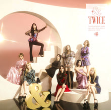 "Load image into Gallery viewer, Japan 2nd Album ""&TWICE"" ONCE Japan Limited Box Set Edition A"