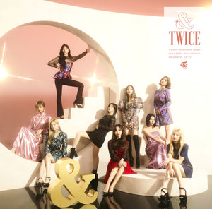 "Japan 2nd Album ""&TWICE"" ONCE Japan Limited Box Set Edition A"