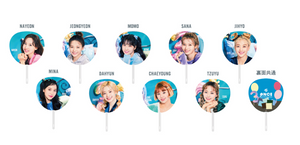 """TWICELIGHTS Tokyo Dome"" Collector Set ONCE Japan Fanclub Limited Image Pickets Complete 9 Members"