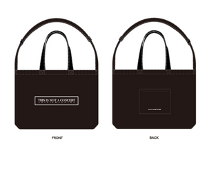 "Jun. K ""THIS IS NOT A CONCERT"" Tote Bag"