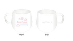 "NiziU ""Step and a step"" Pop Up Store Mug Cup"