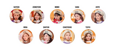 "Load image into Gallery viewer, ""TWICE in Wonderland"" Photo Can Badge"