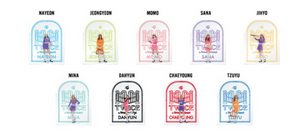 """TWICE in Wonderland"" Collector Set Acrylic Accessory Stands Complete 9 Members"
