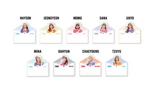"""TWICE in Wonderland"" Collector Set Sticky Notes Complete 9 Members"