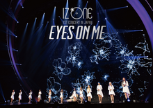 "Load image into Gallery viewer, IZ*ONE 1ST CONCERT IN JAPAN ""EYES ON ME"" TOUR FINAL -Saitama Super Arena- First Press Limited Edition Blu-Ray"