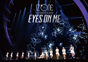 "IZ*ONE 1ST CONCERT IN JAPAN ""EYES ON ME"" TOUR FINAL -Saitama Super Arena- First Press Limited Edition Blu-Ray"