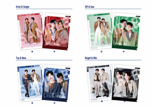 """GMMTV EXHIBITION in JAPAN"" Four Pillars A4 Size Clear File"
