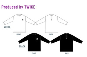 """TWICELIGHTS Tokyo Dome"" Long Sleeve T-Shirt Produced By TWICE"