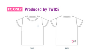 """TWICELIGHTS In Japan"" Fanclub Limited T-Shirt Produced By TWICE"