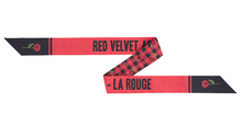 "Load image into Gallery viewer, ""Red Velvet La Rouge Arena Tour In Japan"" Ribbon Scarf"