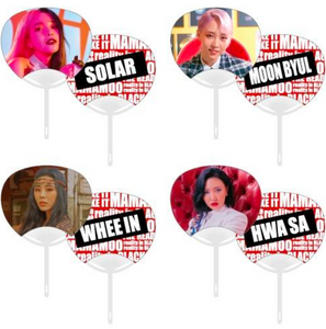 """MAMAMOO 3rd Concert Tour In Japan 2020"" Image Picket Uchiwa"