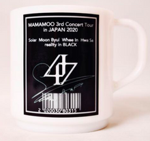 "Load image into Gallery viewer, ""MAMAMOO 3rd Concert Tour In Japan 2020"" Mug Cup"